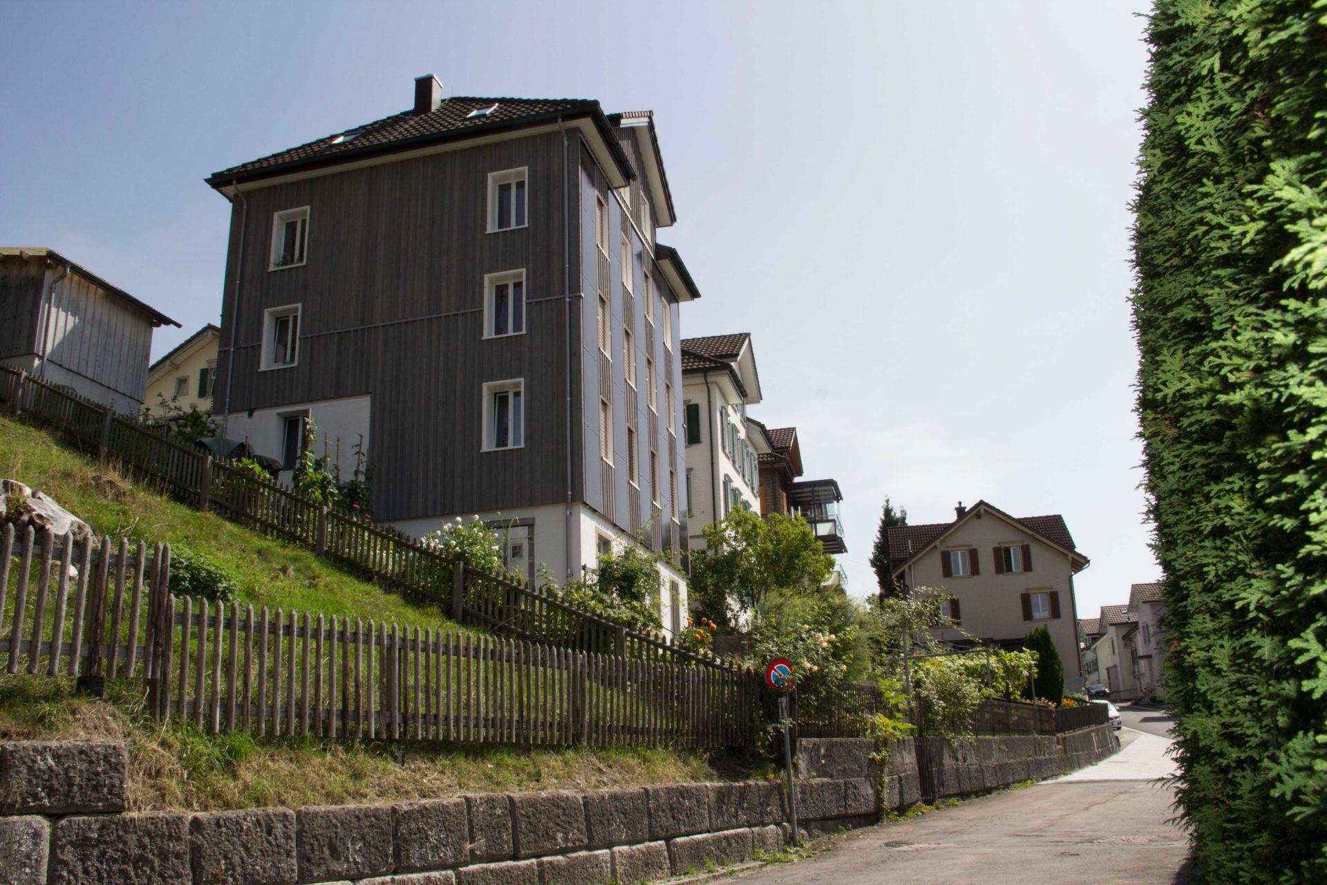 Fassadensanierung herisau pro architektur ag for Architektur 2017